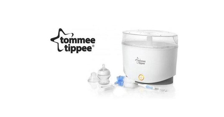 tommee tippee steam steriliser instructions