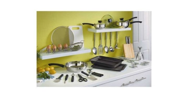 cookworks stainless steel kitchen set argos
