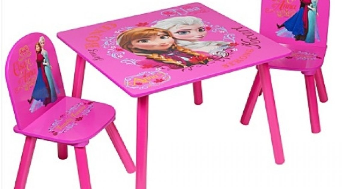 Disney Frozen Table And Chairs Set 163 28 Asda George