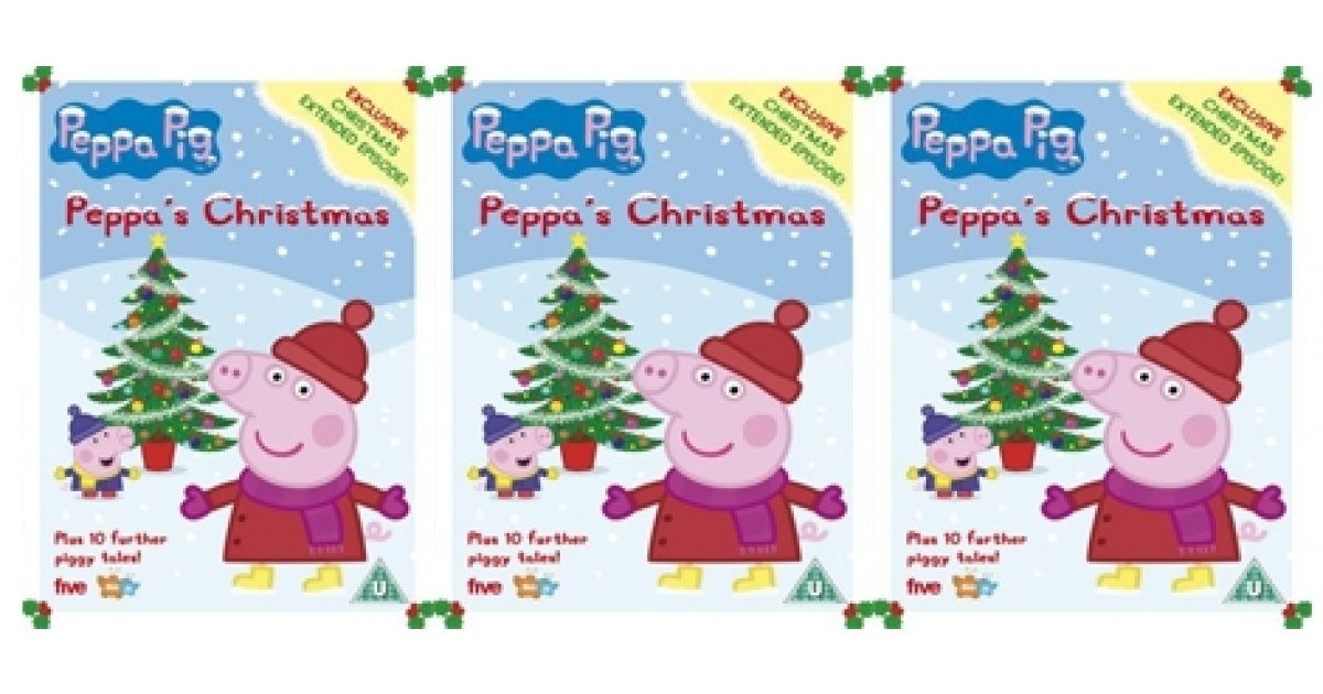 peppa pig christmas dvd 299 amazon