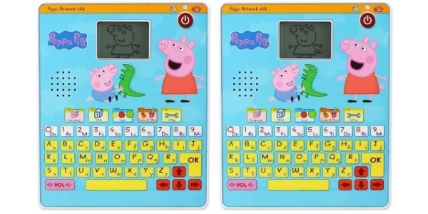 Peppa Pig Tablet was £24.99, now £16.14 with free delivery (using code) @ BBC Shop