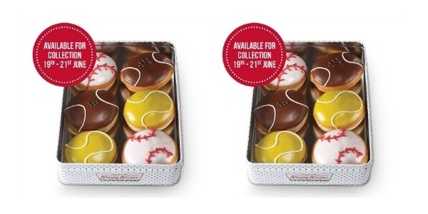 Limited Edition Father's Day Tin @ Krispy Kreme!