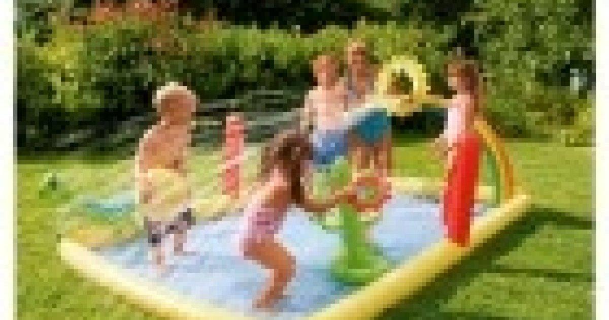 Tesco family fun activity pool tesco direct for Garden pool tesco