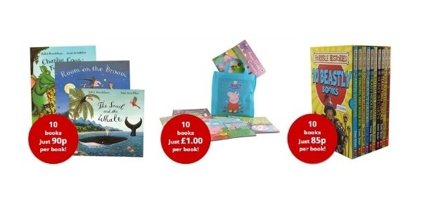 FLASH SALE: 10 Book Collections - Julia Donaldson £9, Peppa £10, Horrible Histories £8.50 and more! @ The Book People