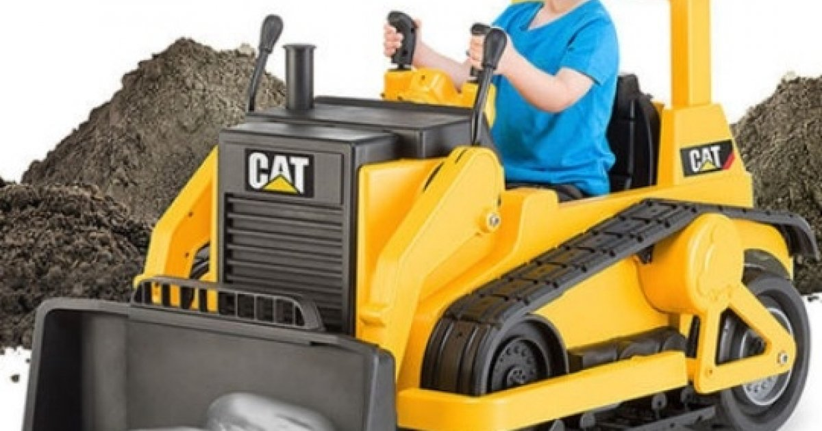 5684d8338f63 Wellsuited Images Of Tractors For Kids Kid Trax Cat Bulldozer