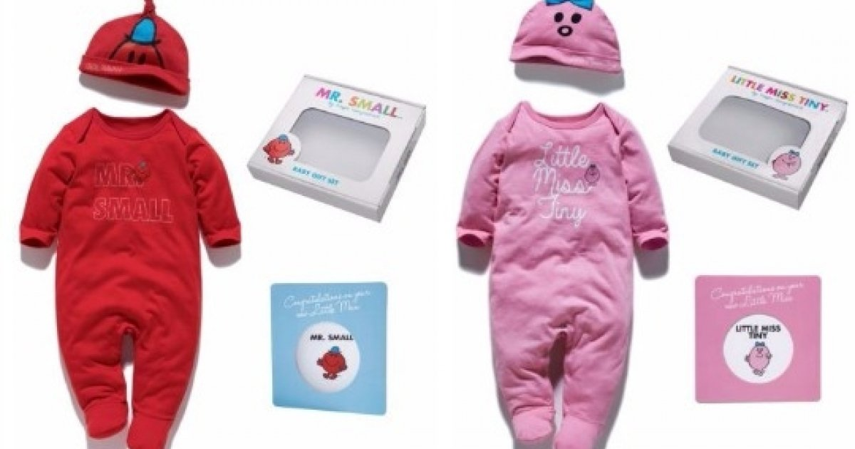 Baby Gift Set Asda : Mr small or little miss tiny new baby gift sets was ?