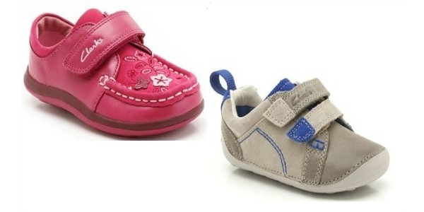 Kids' Shoe Sale: Items From £7 @ Clarks