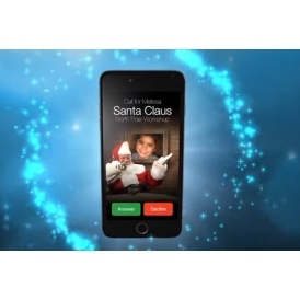 FREE Phone Call From Santa
