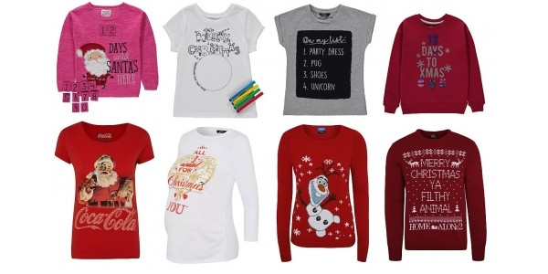 ... NEW Christmas Jumpers   Tops From 2 50 Asda George f2bf9a3d3