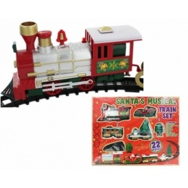 Santa Train Set £5.25 The Works