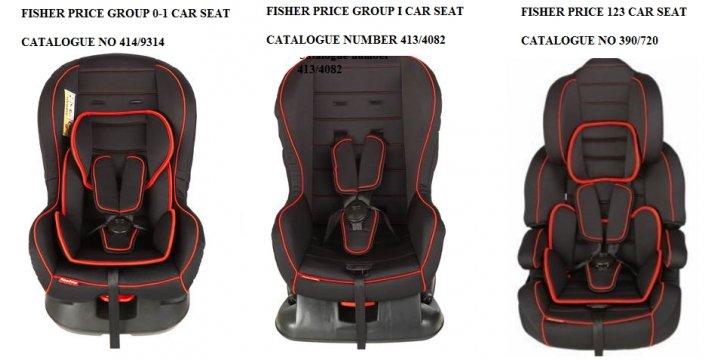 Fisher Price Car Seat Recall Uk