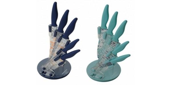 Six Piece Monsoon Antalya/Cordoba Acrylic Knife Block Set £10.33/£9.41 @ Amazon