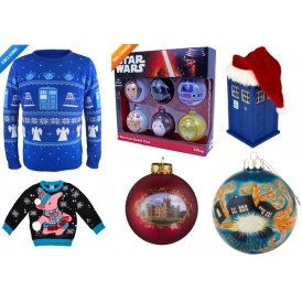 Christmas Jumpers & Decorations @ BBC Shop