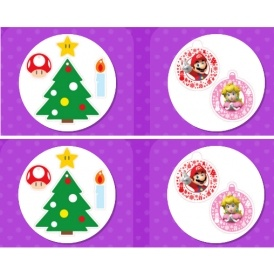 FREE Nintendo Xmas Tags & Decorations