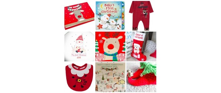 Fun items for baby's 1st Christmas