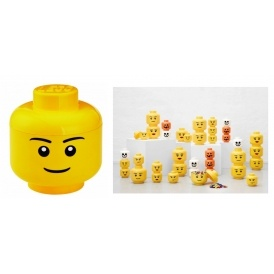Large Lego Storage Head £11.57 @ Amazon