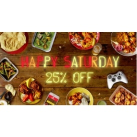 25% Off Takeaway Orders TODAY @ Hungry House