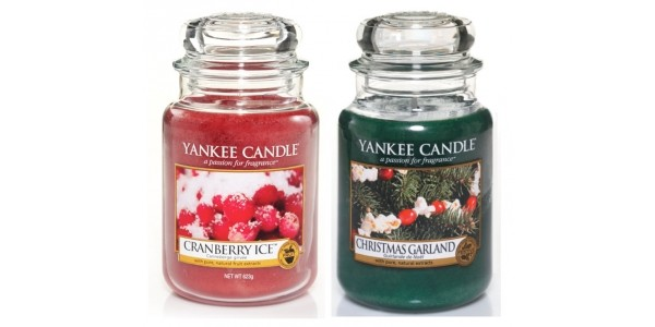 25% Off Christmas Fragrances This Month @ Yankee Candle