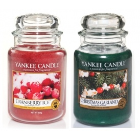 25% Off Yankee Candle Christmas Fragrances
