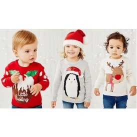 Light Up Christmas Jumpers Mothercare