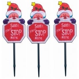 Light Up Santa Sign £4.99 Argos