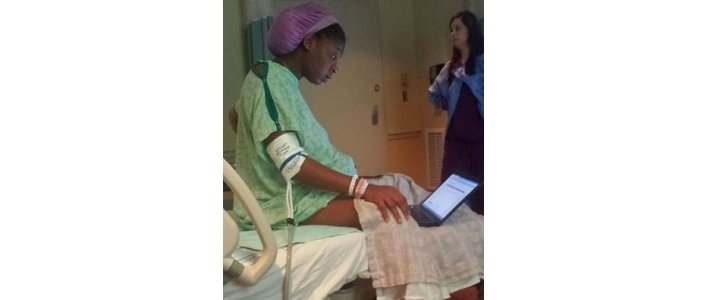 How did you pass the time during labour?