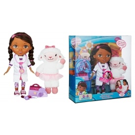 58% Off Doc McStuffins & Lambie Doll £16.88