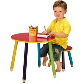 Pencil Table & Stool £8.79 @ Argos eBay