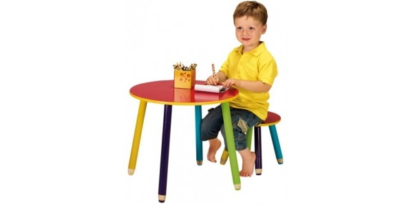 Pencil Table & Stool £8.79 With Free Delivery @ Argos eBay