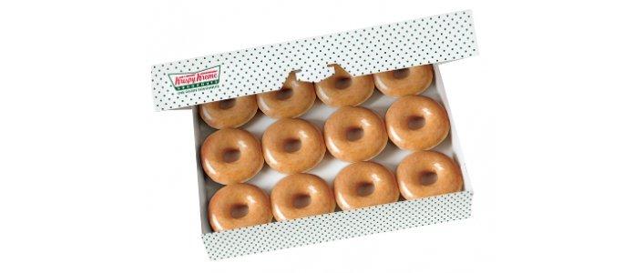 FREE Original Glazed Dozen @ Krispy Kreme