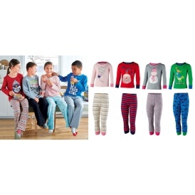 childrens christmas pyjamas 399 aldi - Childrens Christmas Pyjamas