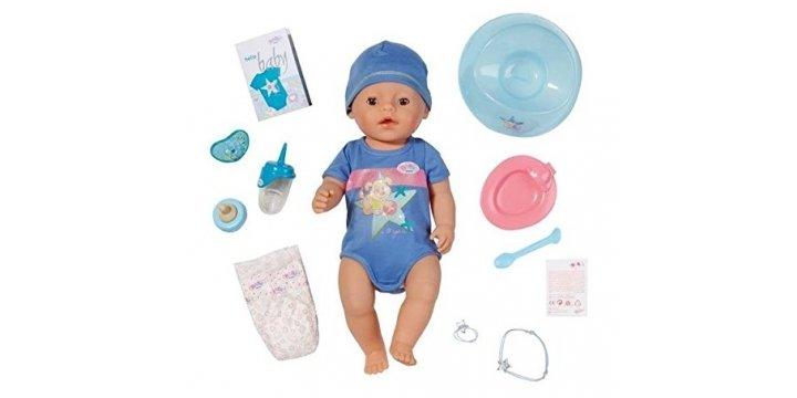 Baby Boy Gifts Debenhams : Baby born interactive boy doll ? delivered