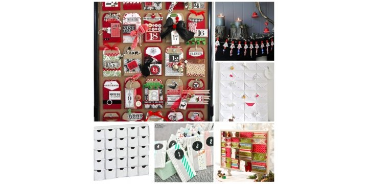 Advent Calendar Design Your Own : Make your own christmas advent calendar