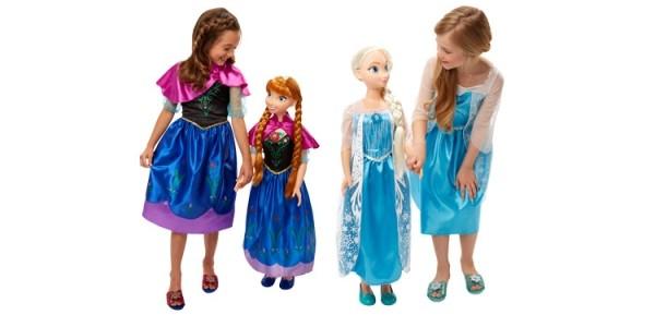 "3 Foot Tall ""My Size"" Frozen Dolls £39.99 @ Costco"