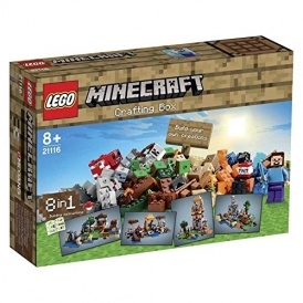 Lego Minecraft Crafting Box £36.49 Amazon