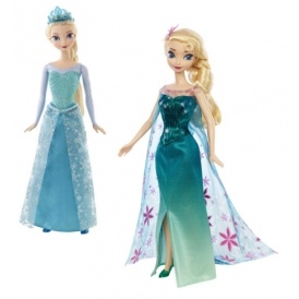 Elsa Sparkle or Frozen Fever Doll £6.56