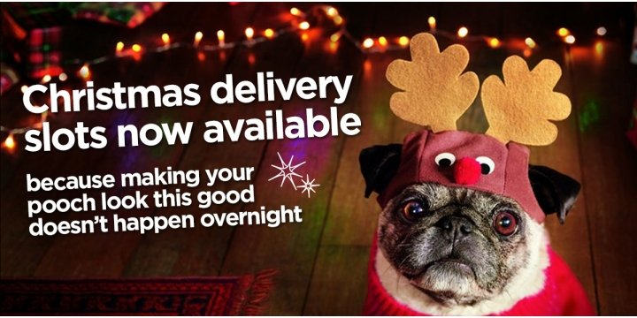 Asda delivery slots christmas