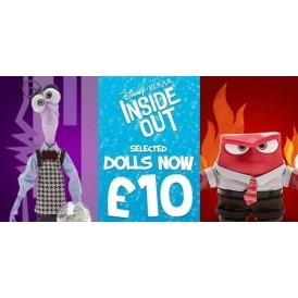 Inside Out Dolls £10 Disney Store
