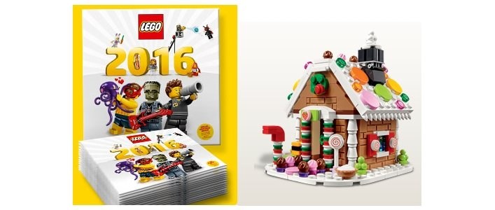 FREE Gifts With Purchase @ The Lego Shop