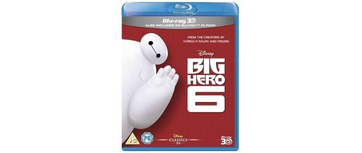 Big Hero 6 Blu-Ray £8.99 Amazon