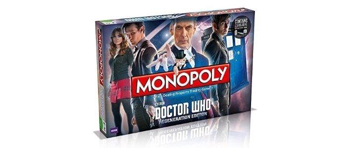 Dr Who Monopoly £17.99 Amazon