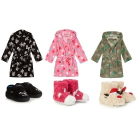 50% Off Dressing Gowns & Slippers From £2.75