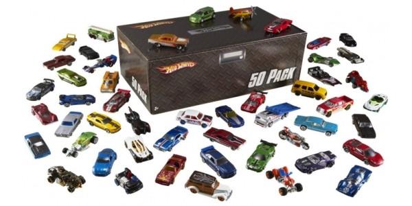 Hot Wheels 50 Car Pack £37 @ Asda & Amazon