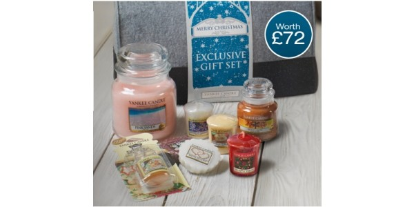 Black Friday Deal: FREE Exclusive Gift Set Worth £72 When You Spend £60 @ Yankee Candle