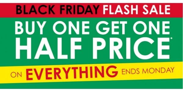 Black Friday: Buy One Get One Half Price On Everything @ H Samuel