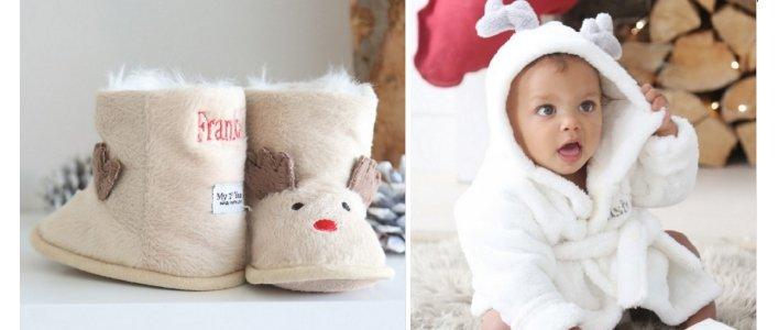 Personalised Reindeer Booties or Robe £12.50