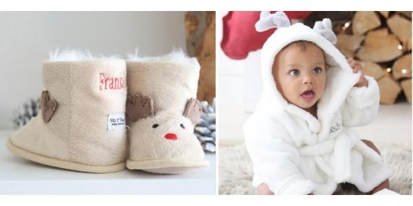 50% OFF Personalised Reindeer Booties or Robe NOW £12.50 @ My 1st Years