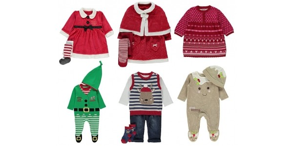 Baby's First Christmas Clothing From £3 @ Asda George