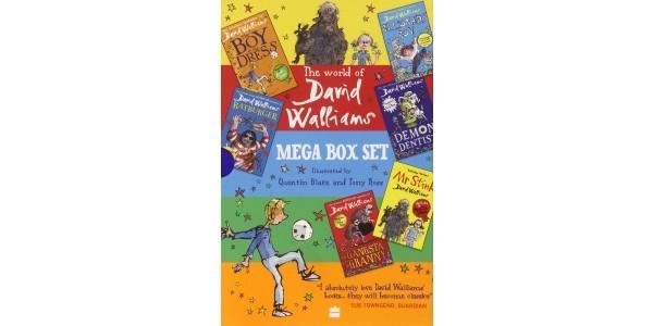 The World Of David Walliams: Mega Box Set £18 Delivered @ Amazon