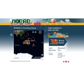 Tracking Santa With NORAD